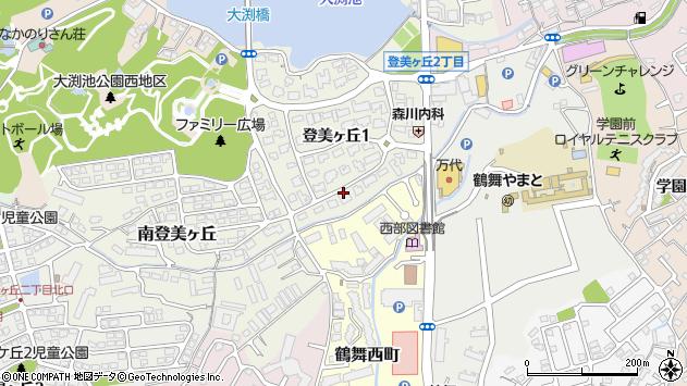 〒631-0004 奈良県奈良市登美ケ丘の地図