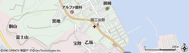 松屋周辺の地図