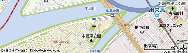 五社神社周辺の地図