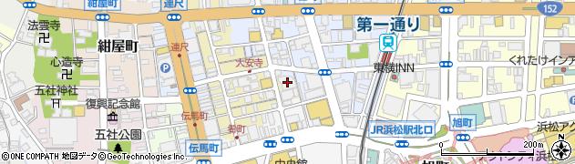 百米周辺の地図