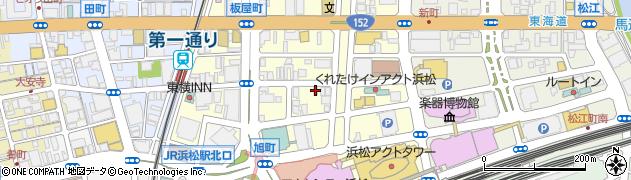 静岡県浜松市中区板屋町670周辺の地図