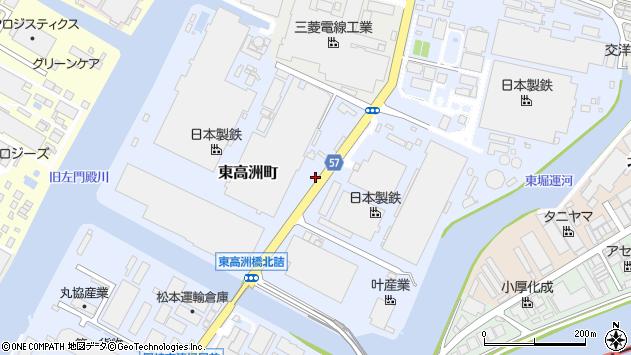 〒660-0841 兵庫県尼崎市東高洲町の地図