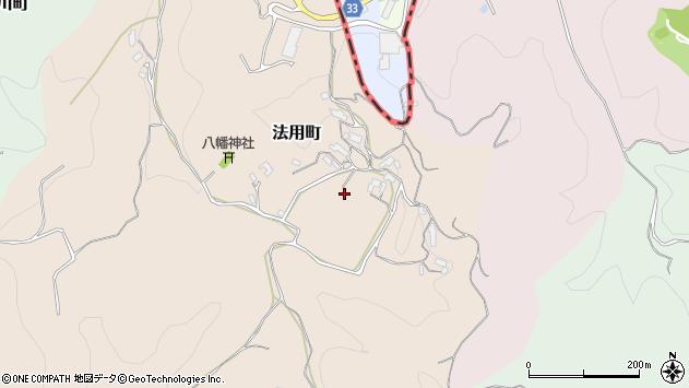 〒630-1126 奈良県奈良市法用町の地図