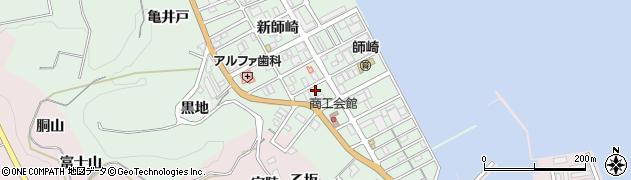 愛知県南知多町(知多郡)片名(新師崎)周辺の地図