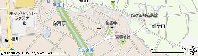 愛知県豊橋市野依町(西屋敷)周辺の地図
