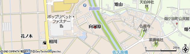 愛知県豊橋市野依町(向河原)周辺の地図