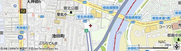 大阪府大阪市北区樋之口町周辺の地図