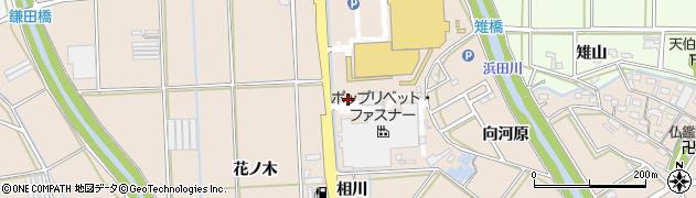 愛知県豊橋市野依町(細田)周辺の地図