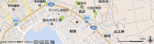 愛知県南知多町(知多郡)豊浜(須佐ノ浦)周辺の地図
