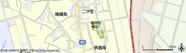 愛知県豊橋市原町周辺の地図