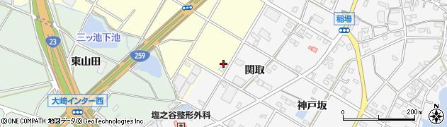 愛知県豊橋市船渡町(三ツ池)周辺の地図