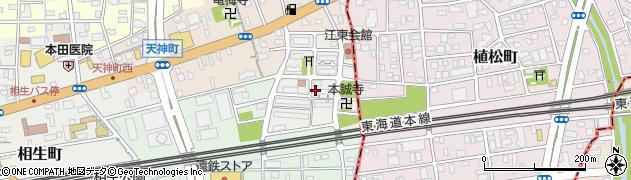 富吉団地周辺の地図