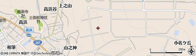 愛知県南知多町(知多郡)豊浜(東ケ丘)周辺の地図