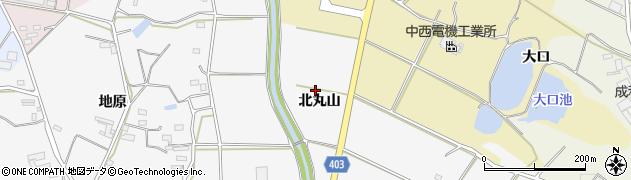 愛知県豊橋市細谷町(北丸山)周辺の地図