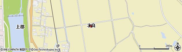 三重県伊賀市才良周辺の地図