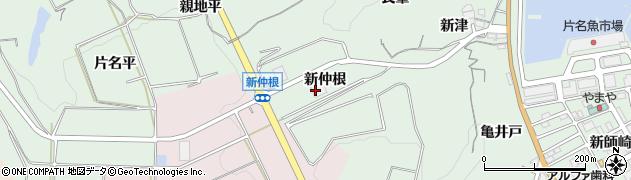 愛知県南知多町(知多郡)片名(新仲根)周辺の地図