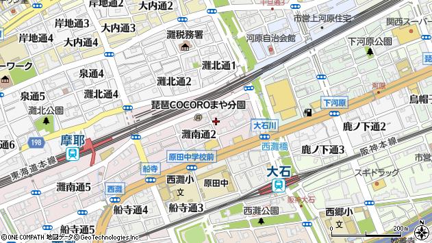〒657-0841 兵庫県神戸市灘区灘南通の地図