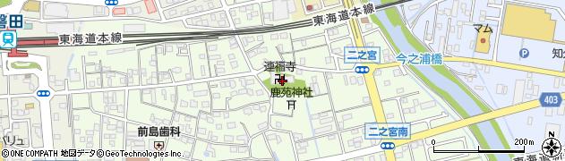 連福寺周辺の地図