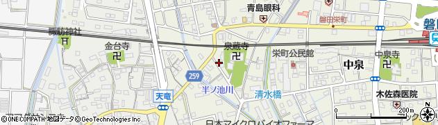 静岡県磐田市石原町周辺の地図