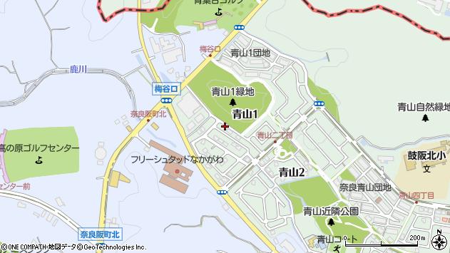 〒630-8101 奈良県奈良市青山の地図