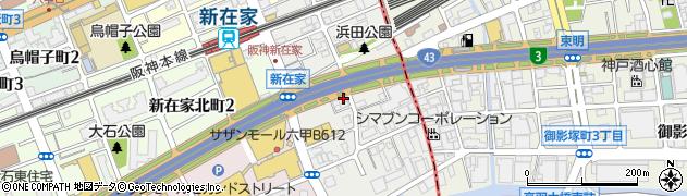 竹内油業株式会社 東神戸車検・鈑金センター周辺の地図