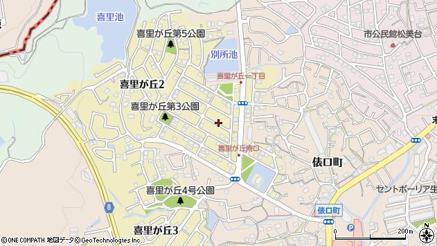 〒630-0248 奈良県生駒市喜里が丘の地図