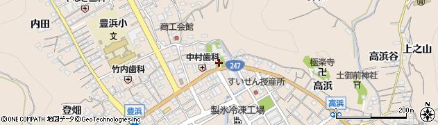 愛知県南知多町(知多郡)豊浜(鳥居)周辺の地図