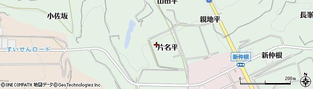 愛知県南知多町(知多郡)片名(平)周辺の地図