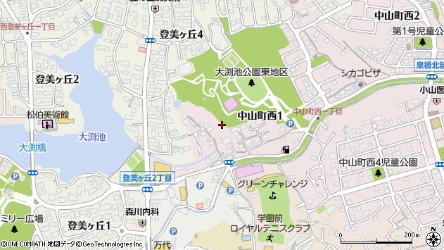 〒631-0013 奈良県奈良市中山町西の地図