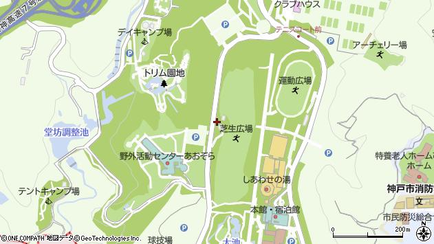 〒651-1106 兵庫県神戸市北区しあわせの村の地図