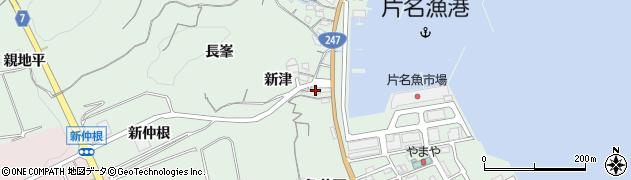 愛知県南知多町(知多郡)片名(長廻間)周辺の地図
