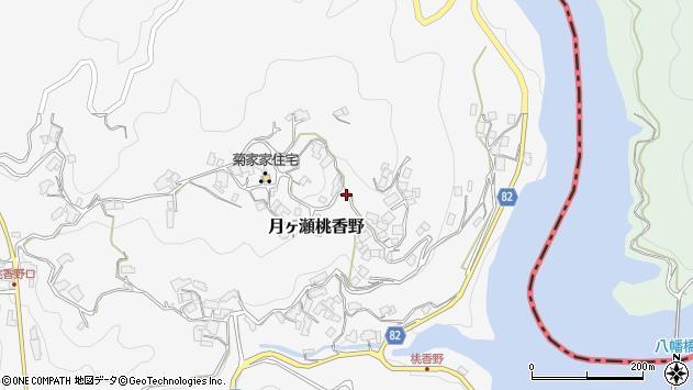 〒630-2306 奈良県奈良市月ヶ瀬桃香野の地図