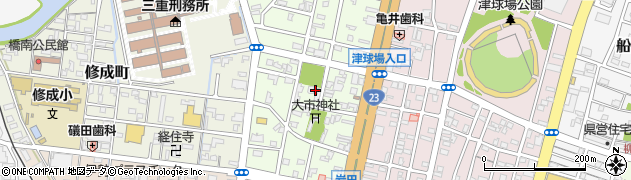 庭岩寺周辺の地図