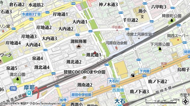 〒657-0835 兵庫県神戸市灘区灘北通の地図