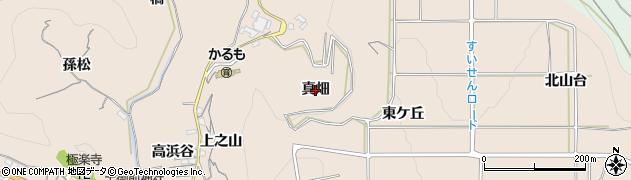 愛知県南知多町(知多郡)豊浜(真畑)周辺の地図