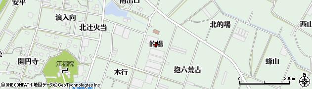 愛知県豊橋市大崎町(的場)周辺の地図