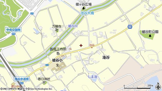〒651-2234 兵庫県神戸市西区櫨谷町池谷の地図