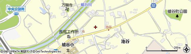 兵庫県神戸市西区櫨谷町(池谷)周辺の地図