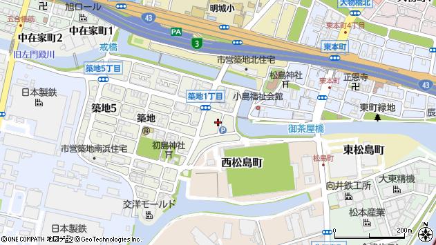 〒660-0858 兵庫県尼崎市築地の地図
