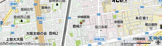 提法寺周辺の地図
