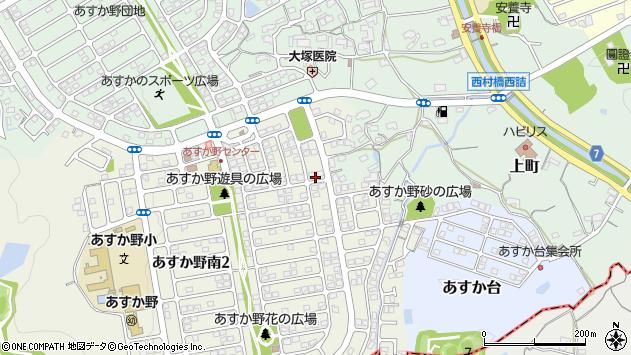 〒630-0133 奈良県生駒市あすか野南の地図