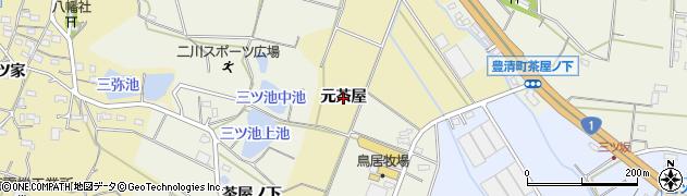 愛知県豊橋市三弥町(元茶屋)周辺の地図