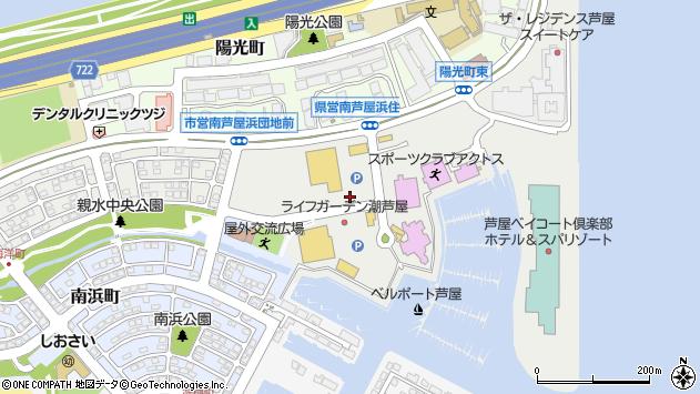 〒659-0035 兵庫県芦屋市海洋町の地図