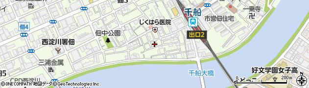 カラオケ喫茶 絆周辺の地図