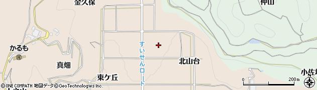 愛知県南知多町(知多郡)豊浜(北山台)周辺の地図
