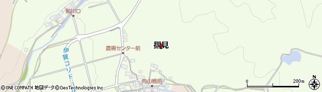 三重県伊賀市摺見周辺の地図