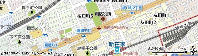 桜口4周辺の地図