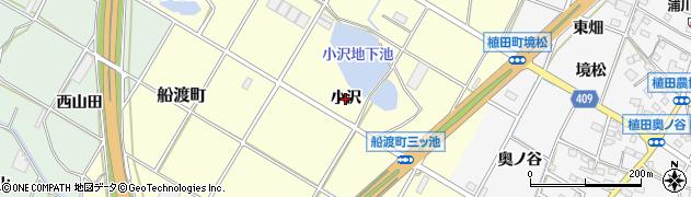 愛知県豊橋市船渡町(小沢)周辺の地図