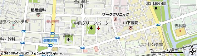 日蓮宗 妙見堂周辺の地図