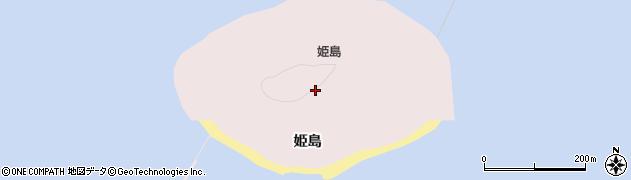 愛知県田原市片浜町(姫島)周辺の地図